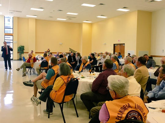 Members of Central Louisiana civic clubs hear from