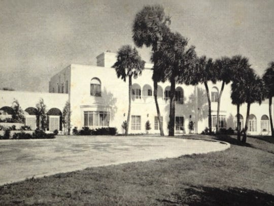 The Tuckahoe Mansion in 1940.