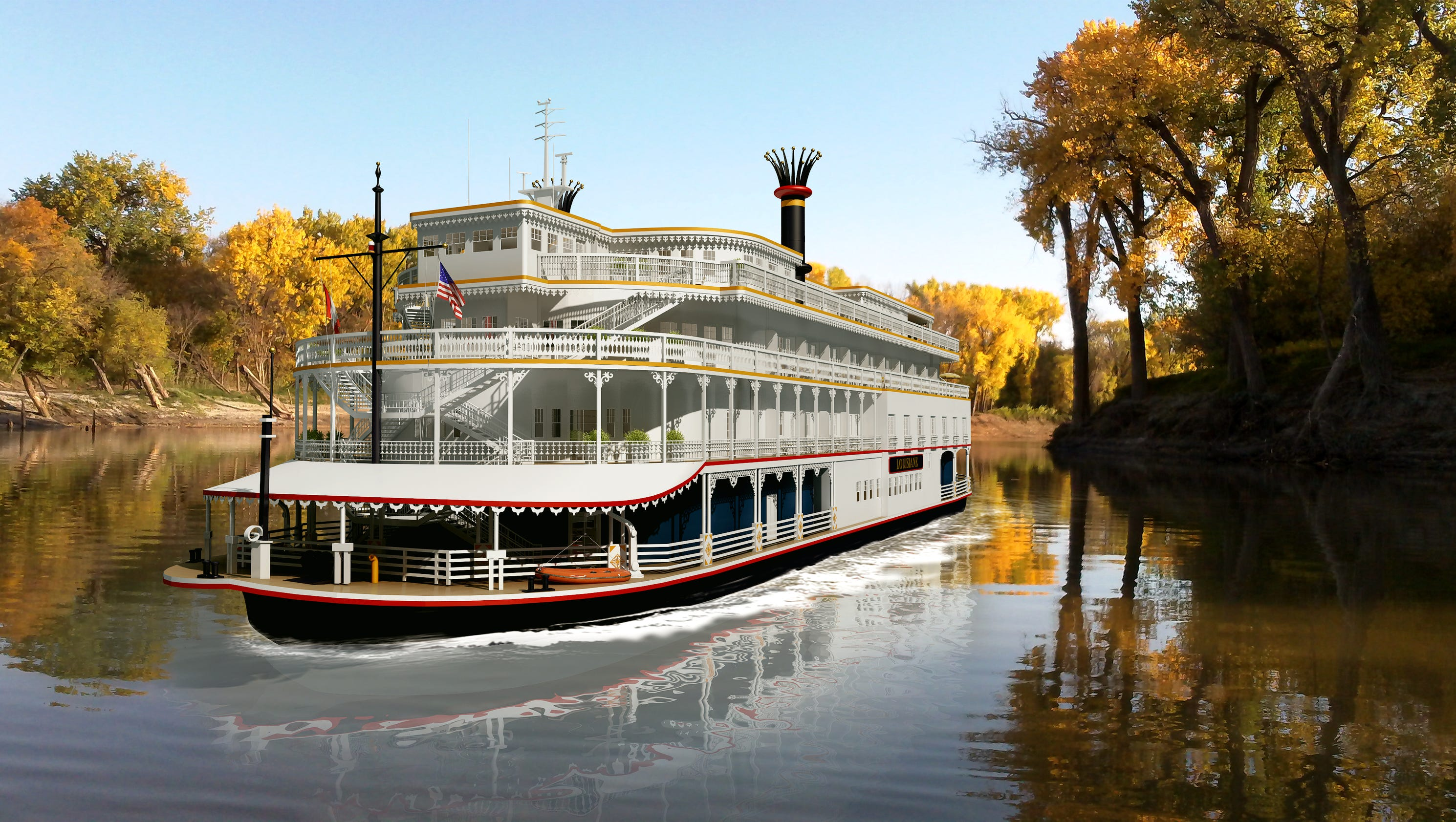 Boutique Holiday River Cruise To Stop In Shreveport