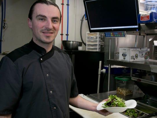 Oleg Scorpan, owner of Yvonne's Restaurant in Neptune,