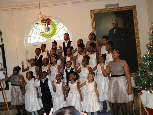 Detroit choir performance