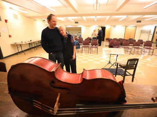 Lanny Paykin, a friend and longtime fellow cellist, came to Hackensack's Johnson Public Library on Monday to hear E. Zoe Hassman perform.