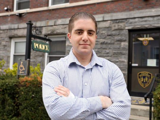 Irvington police officer Arcangelo Liberatore, 31,