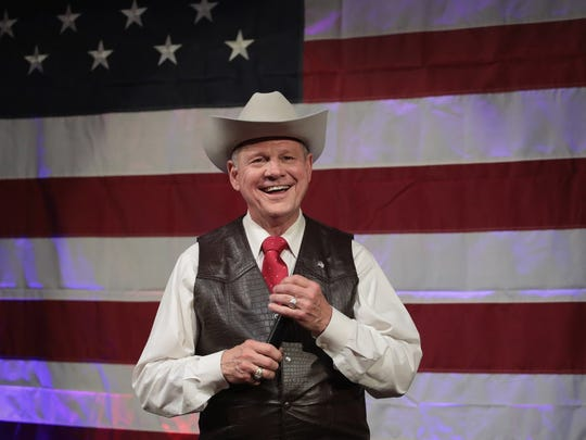 Republican Senate candidate Roy Moore