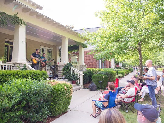 This year's PorchFest drew a crowd of 10,000 people