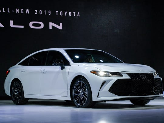 The 2019 Toyota Avalon Touring model is seen during