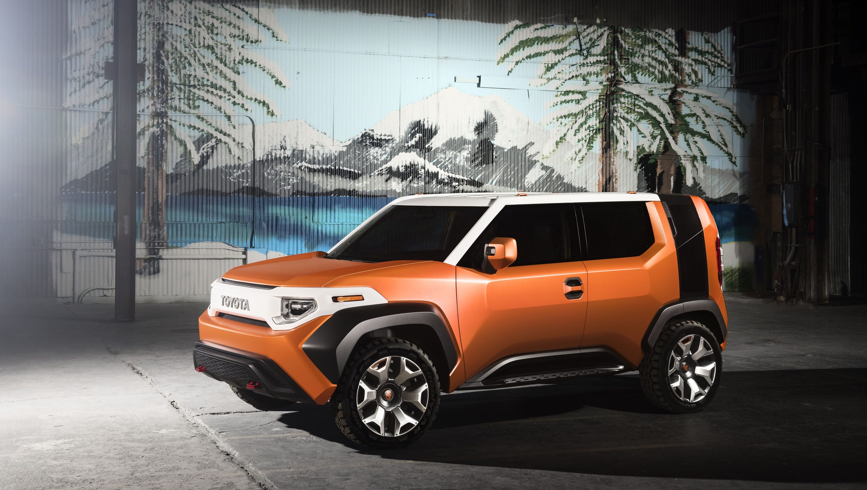 toyota ft 4x concept crossover at new york auto show will millennials care. Black Bedroom Furniture Sets. Home Design Ideas