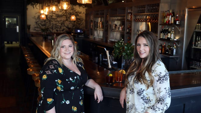 Katie MacLachlan and Robyn Donnelly, owners of East Nashville's Walden, are photographed at the bar Tuesday March 6, 2018.