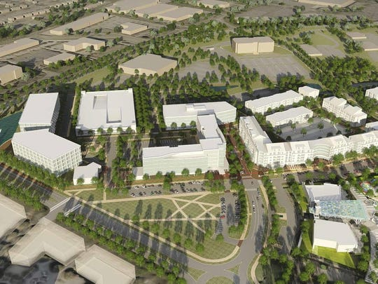 Al. Neyer wants to develop Gateway Village on a portion of the former Blue Ash Airport property to feature a corporate tenant, new apartments, commercial development and other amenities.