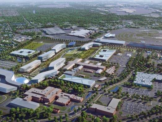 Ford looks to silicon valley in corporate campus redesign for Ford motor company corporate office
