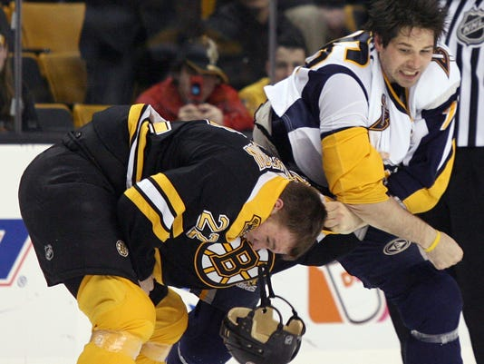 Shawn Thornton, Andrew Peters