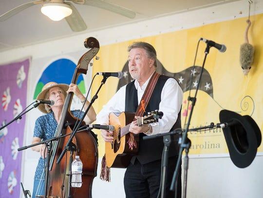 Ballad singer and songwriter Joe Penland, winner of