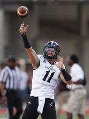 Quarterback Gunner Kiel and the Bearcats will no longer be wearing the adidas brand, moving to Under Armour next season.