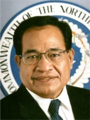 Former Northern Marianas Gov. Benigno Fitial