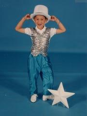Jim Nowakowski as a young dancer in Webster.