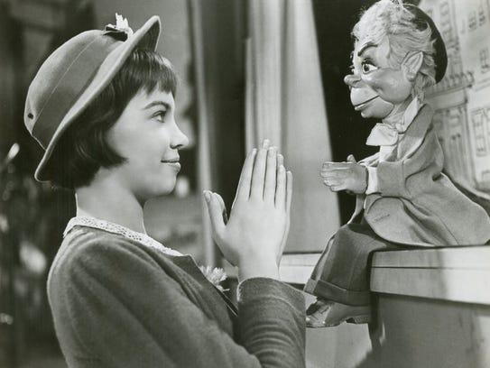 Leslie Caron in 'Lili'.