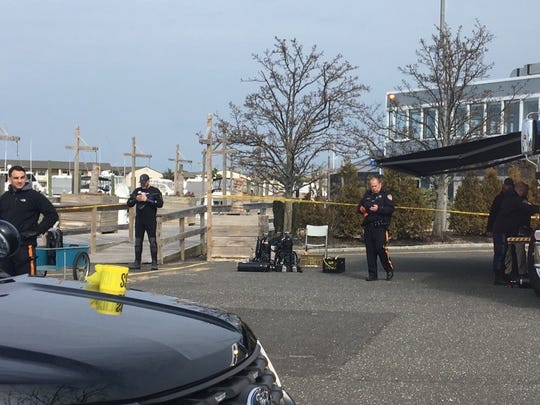 Police divers are investigating near the Channel Club Marina and the Beach Tavern.