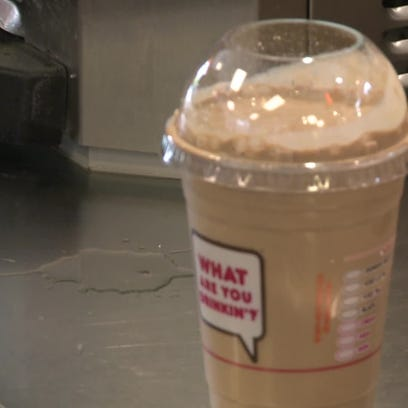 Dunkin' Donuts' iced coffee