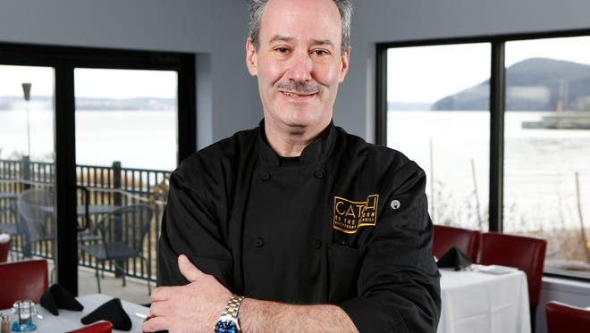 Chef Steve Lauterbach of Catch on the Hudson in Haverstraw, photographed on Thursday, January 5, 2017.