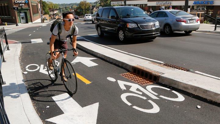 Will State Street's new bike lane improve Purdue's bike culture?