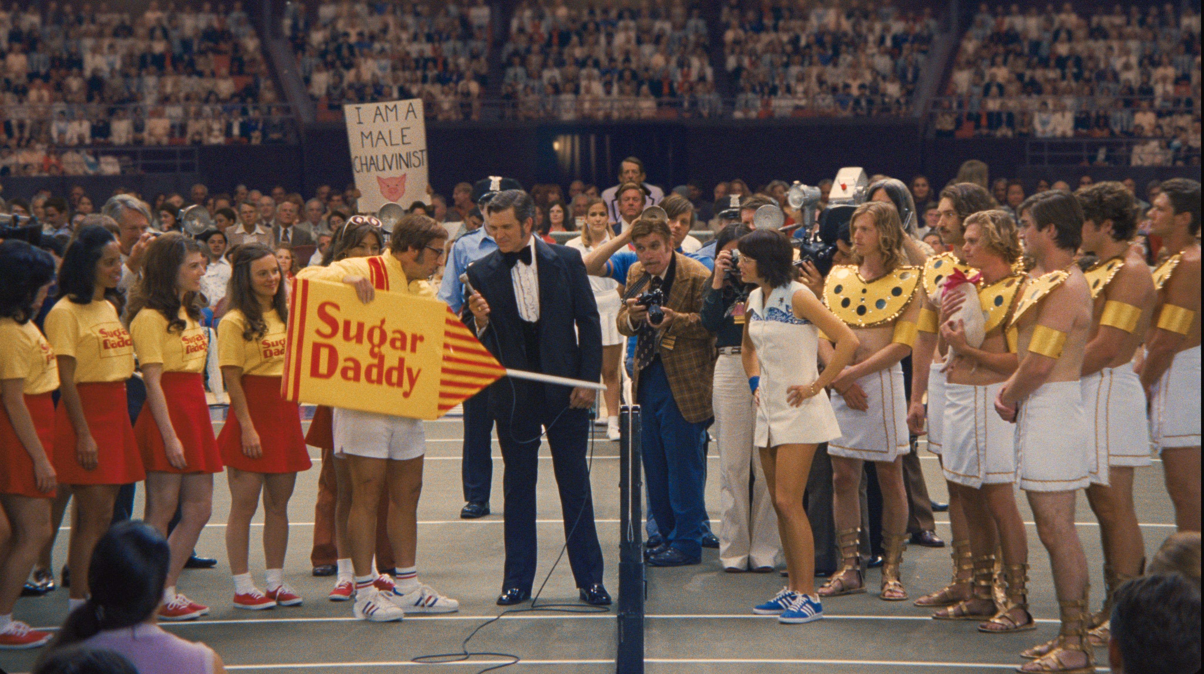 Battle of the sexes tennis pics 20