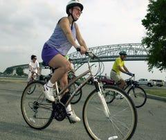 Pedal the 'Tour de Blue'