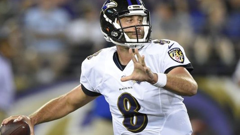 Former Houston quarterback Matt Schaub will lead the