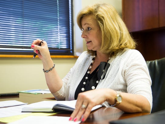 Janice Hendrix, recently named executive director at