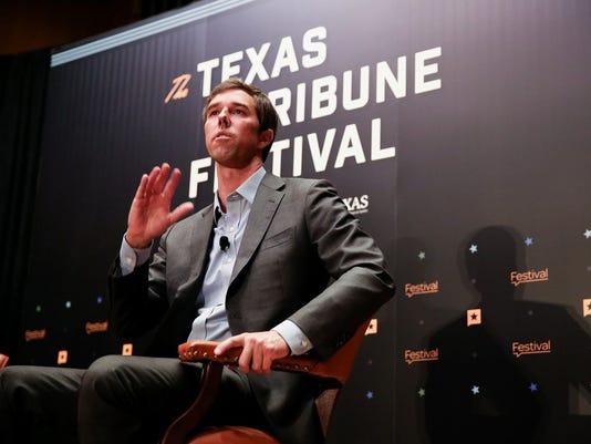 Beto O'Rourke at Texas Tribune Festival