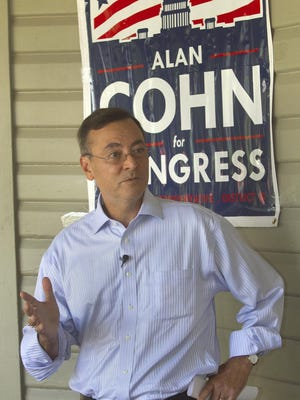 On Thursday, the Democratic Congressional Campaign Committee announced that Alan Cohn, the party's candidate for Florida's key U.S. House District 15 seat, will be added to the Red to Blue program, which supports top-tier candidates nationally. Cohn is facing Republican candidate Scott Franklin of Lakeland in the November election for the office in Congress.