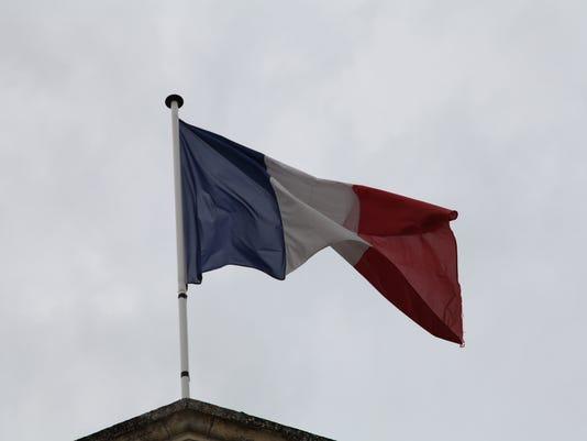 FRANCE TRIP 2013 FLAG