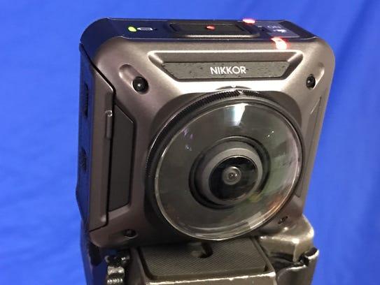 Nikon's KeyMission 360 camera shoots 360 degree virtual