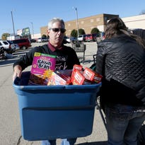 Helping at a mobile food pantry inspired me