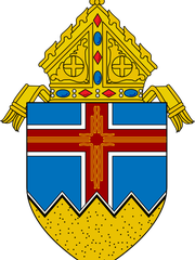 The logo for the Roman Catholic Diocese of Las Cruces