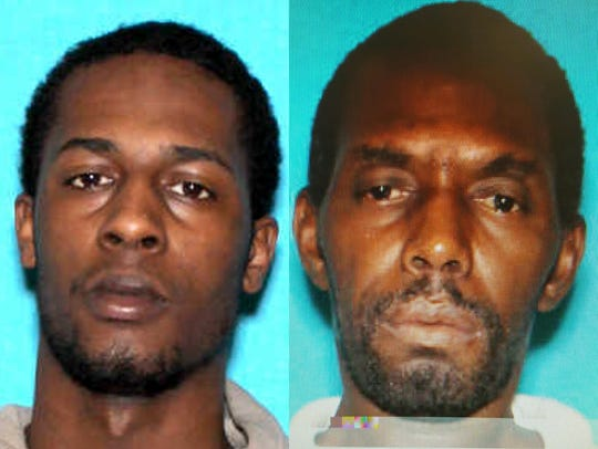 Suspect Ernest Coleman, left, 30, was taken into custody