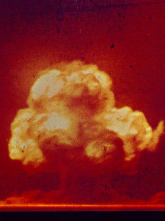 Trinity Site Bomb