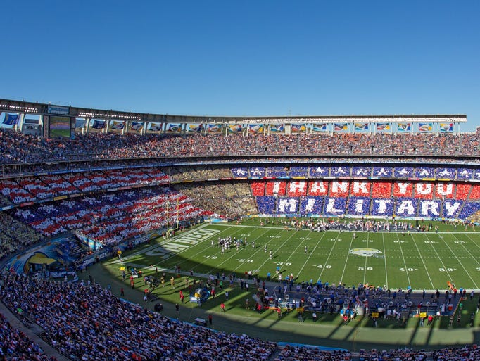 Nfl Salutes The Troops For Veterans Day