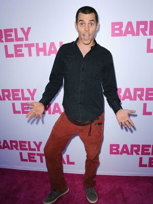 Steve-O at the premiere of 'Barely Lethal' on May 27.