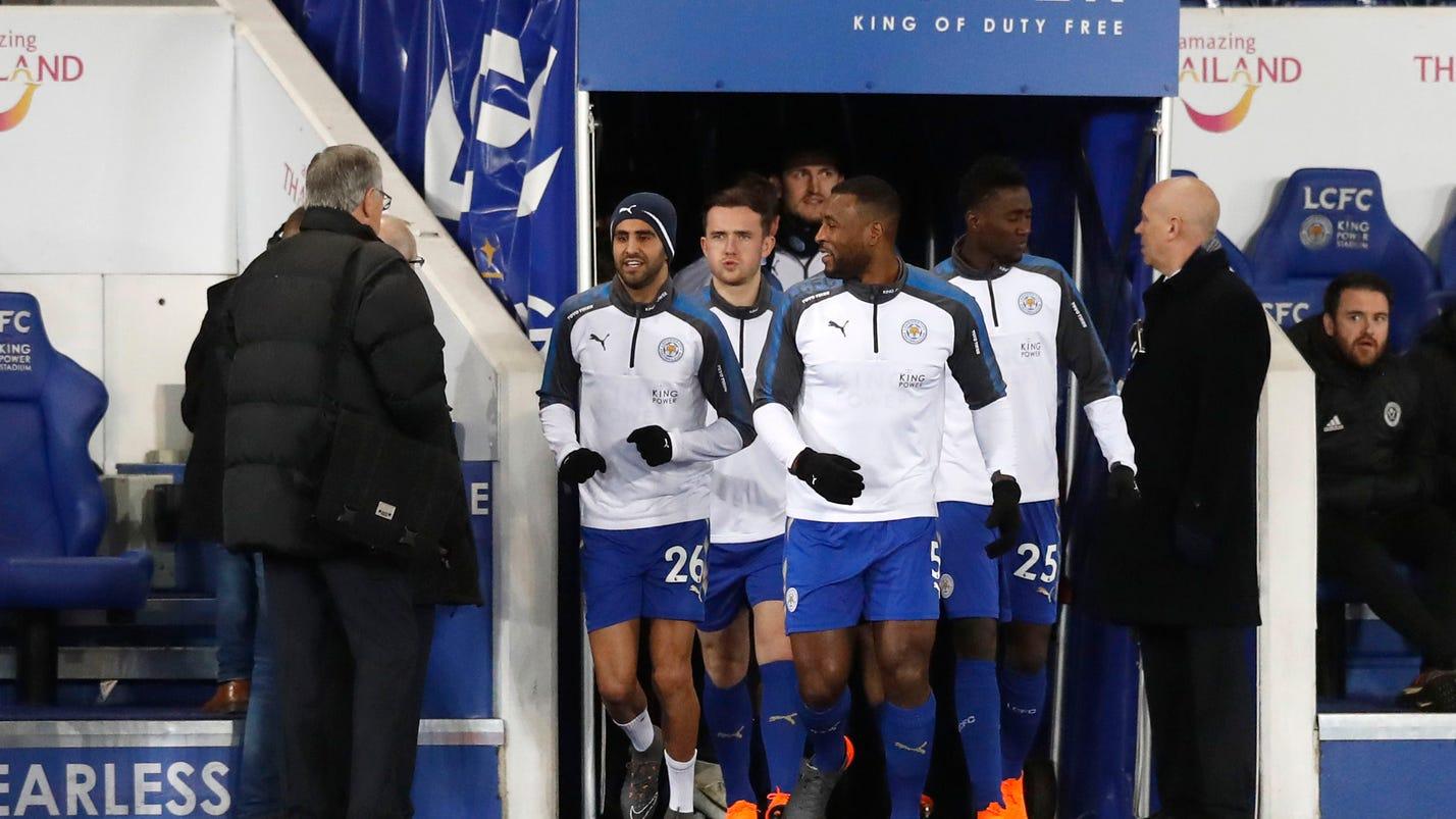 Reintegrated Mahrez helps Leicester into FA Cup quarters