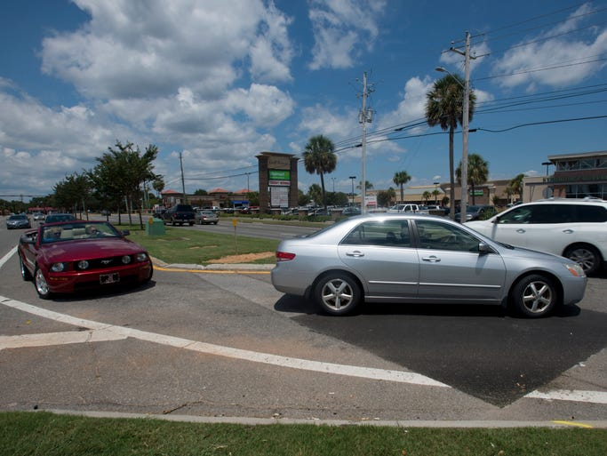 City of Gulf Breeze plans to urge FDOT to close off a dangerous turn lane on Gulf Breeze Parkway. There have been 98 accidents at the turn in to from the southbound lane in to Starbucks since 2008. FDOT has refused to do it in the past. City council will vote on Wednesday sending in formal request to FDOT to remedy the problem.