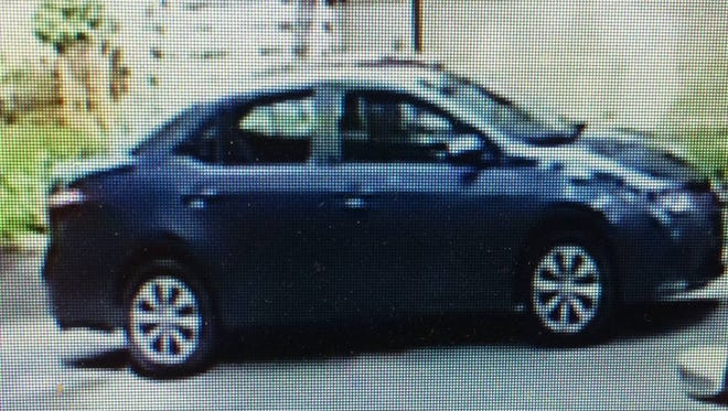 Ringwood police are looking for this vehicle in connection with a burglary last Thursday on Hillside Road.