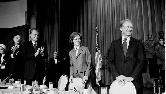 President Jimmy Carter and First Lady Rosalynn Carter