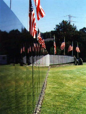 The Moving Wall, a replica of the Vietnam Veterans Memorial in Washington, D.C.