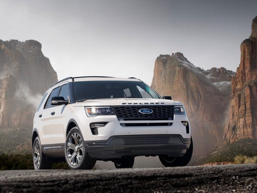 The 2018 Explorer strengthens gives customers upgraded