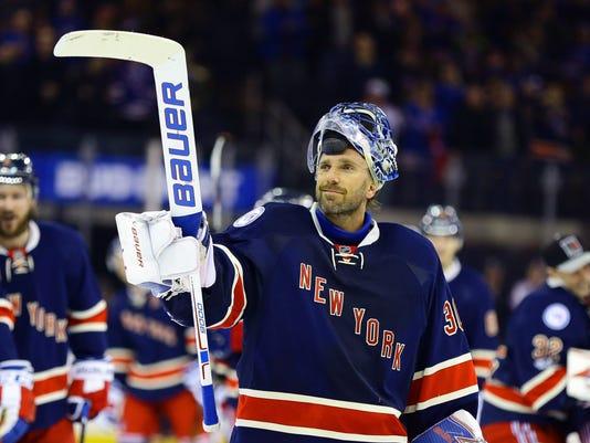 NHL: Colorado Avalanche at New York Rangers
