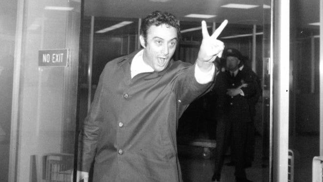 Comedian Lenny Bruce in 1963