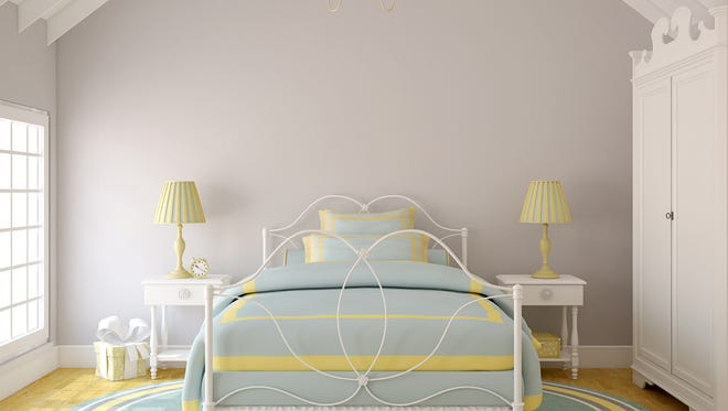 When changing your bedroom, the first thing to consider is the bed. New color bedding can make a big difference.