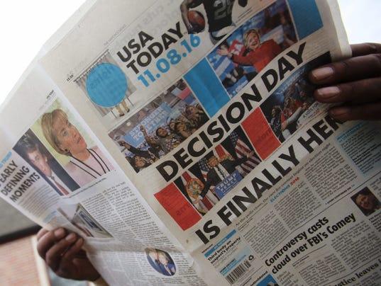 EPA USA ELECTION DAY 2016 POL ELECTIONS USA AL