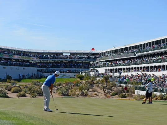 Waste Management Phoenix Open - Round One