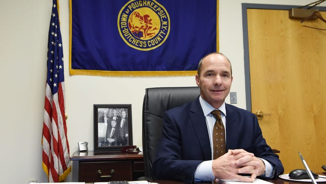 Town of Poughkeepsie Supervisor Todd Tancredi, the incumbent and winner of the 2015 supervisor race.